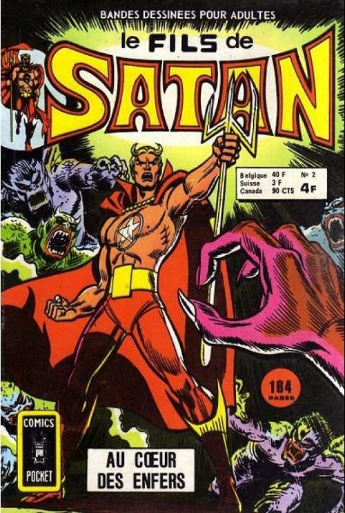 Couverture de Le fils de Satan -2- Au cœur des enfers