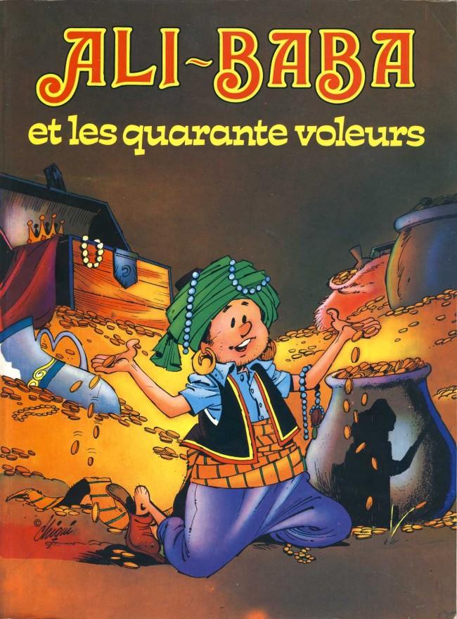 Couverture de Grands classiques (De La Fuente) - Ali-Baba et les quarante voleurs
