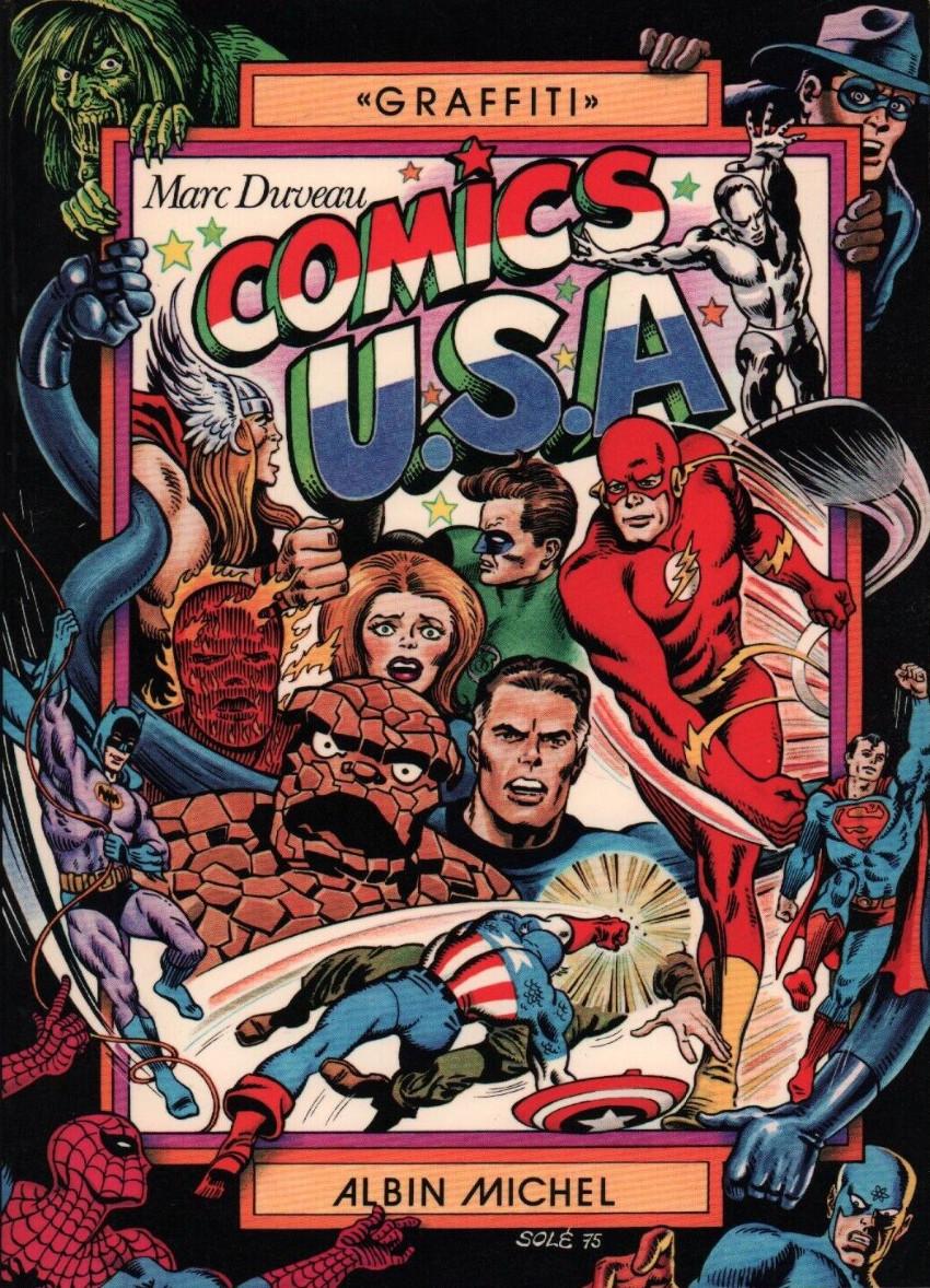 Couverture de (DOC) Études et essais divers - Comics U.S.A