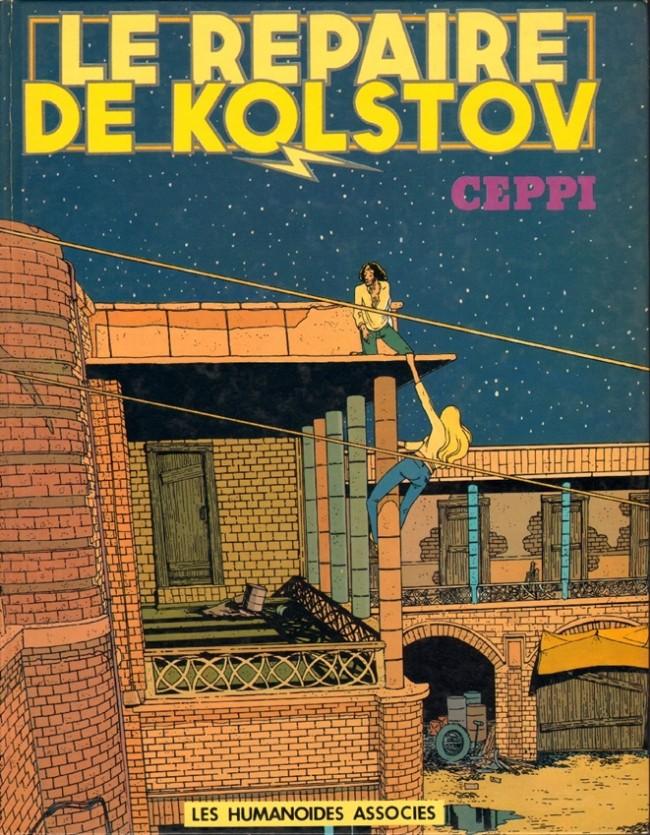 Couverture de Stéphane Clément -3- Le repaire de Kolstov