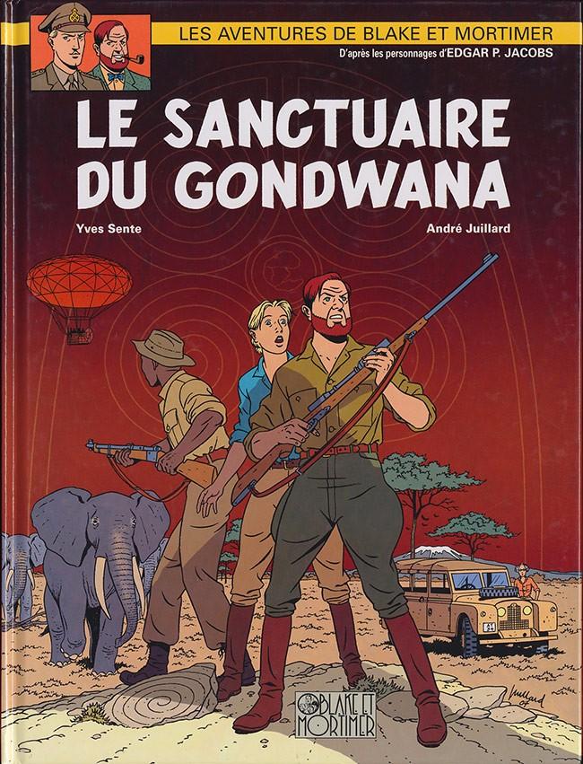 Couverture de Blake et Mortimer -18- Le Sanctuaire du Gondwana