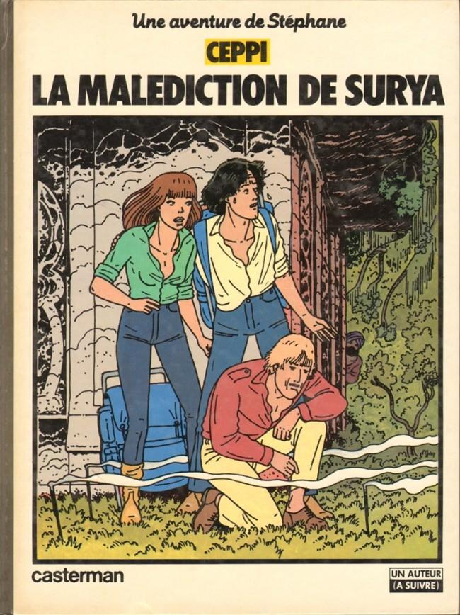 Couverture de Stéphane Clément -5- La malédiction de Surya