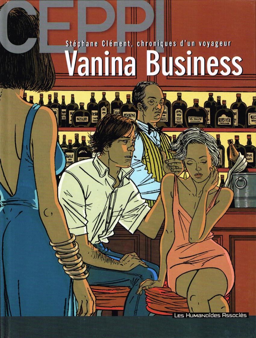 Couverture de Stéphane Clément -109- Vanina Business
