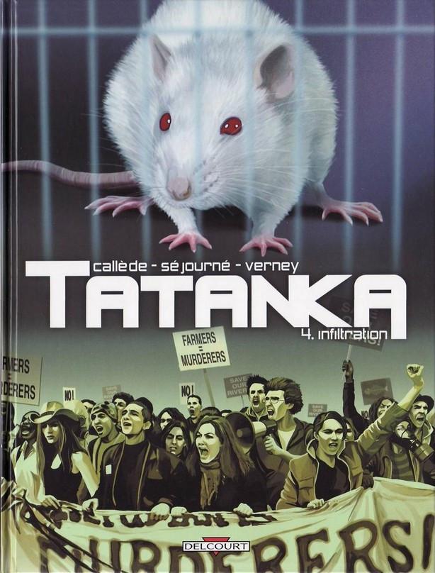 Couverture de Tatanka (Callède/Séjourné) -4- Infiltration