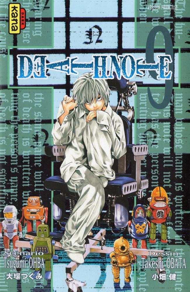 Couverture de Death Note -9- Tome 9