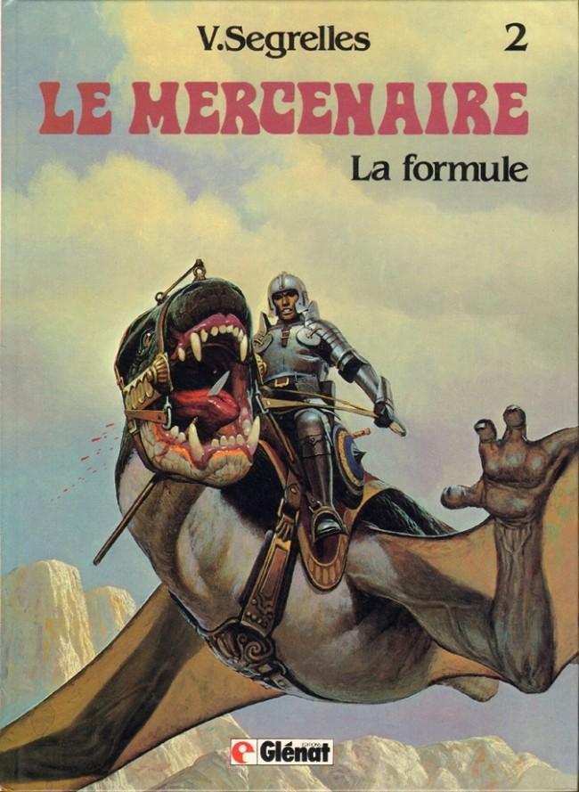 Couverture de Le mercenaire -2- La formule
