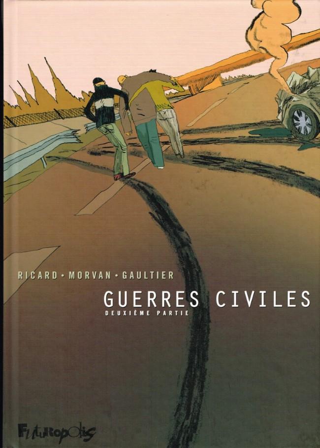 Couverture de Guerres civiles -2- Deuxième partie