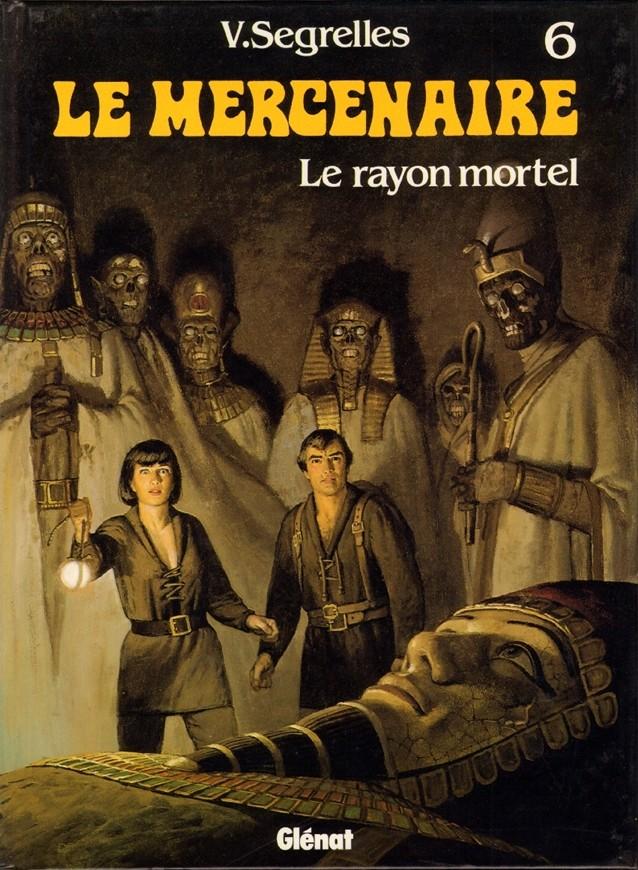 Couverture de Le mercenaire -6- Le rayon mortel