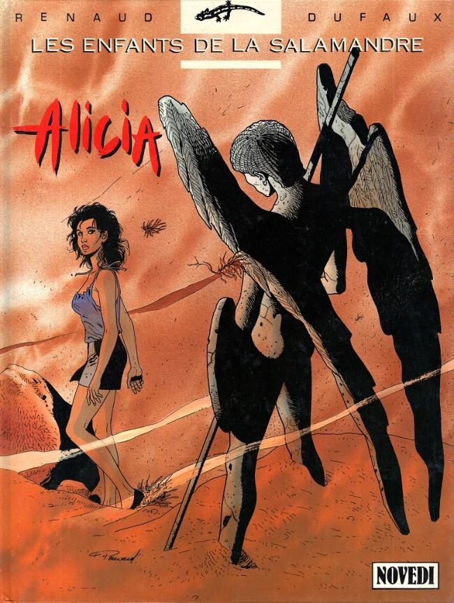 Couverture de Les enfants de la Salamandre -3- Alicia