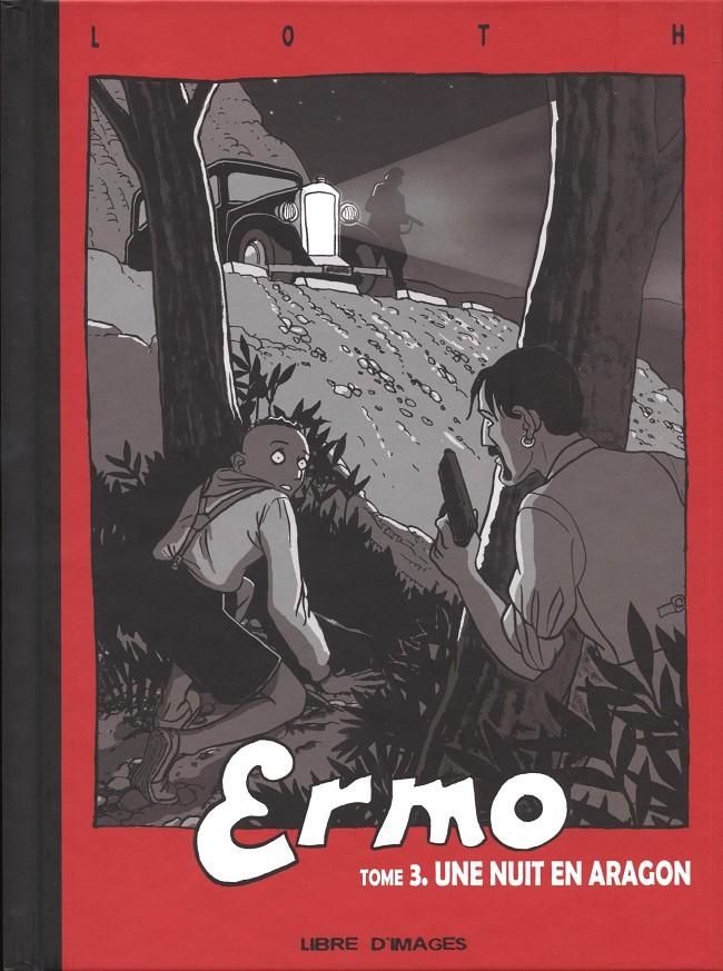 Couverture de Ermo -3- Une nuit en Aragon