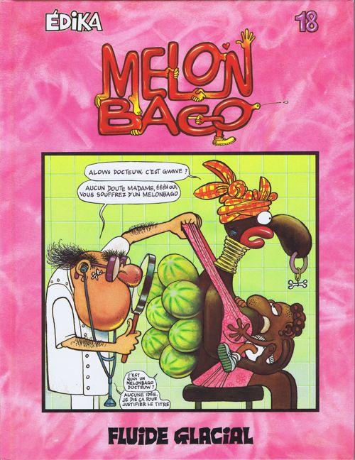 Couverture de Édika -18- Melon Bago