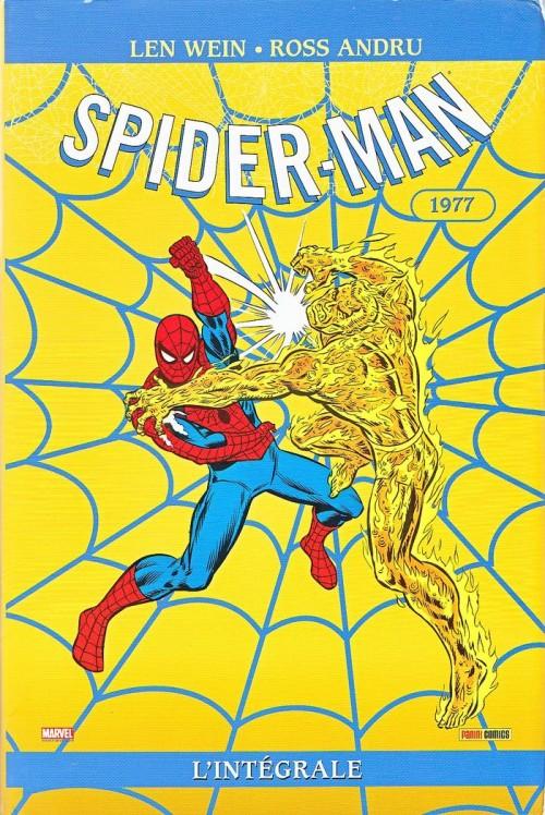 Couverture de Spider-Man (L'Intégrale) -15INT- Spider-man : l'Intégrale 1977