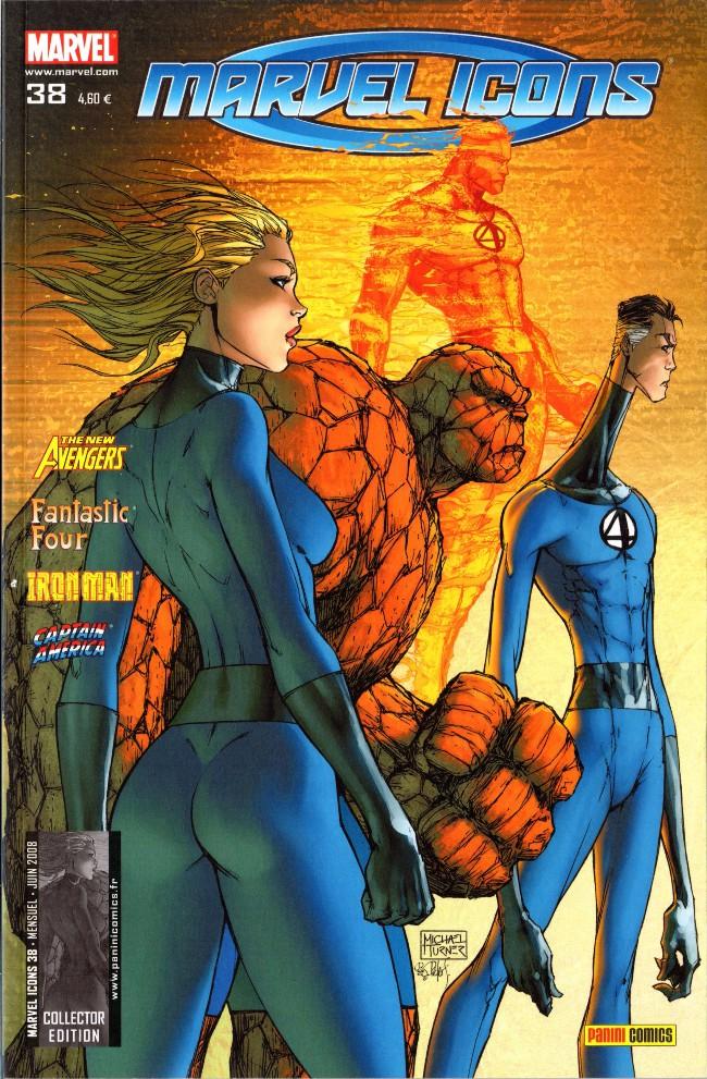 Couverture de Marvel Icons (Marvel France - 2005) -38- Confiance