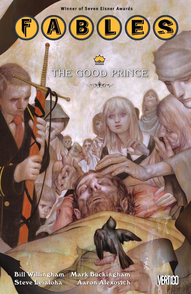 Couverture de Fables (2002) -INT10- The Good Prince
