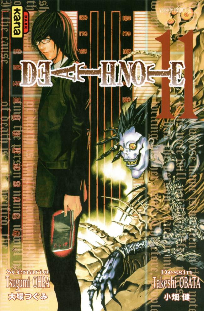 Couverture de Death Note -11- Tome 11