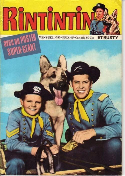 Couverture de Rin Tin Tin & Rusty (2e série) -85- Rintintin n°85
