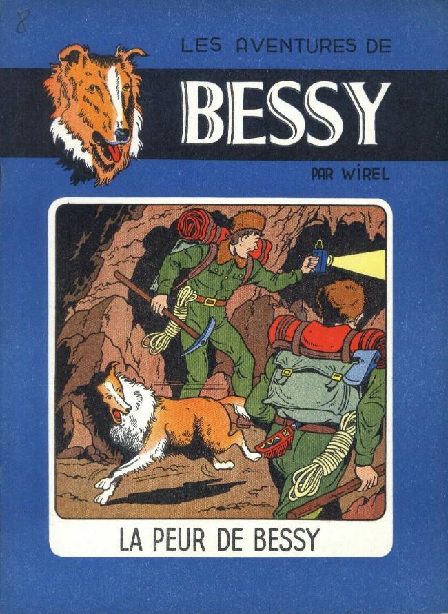 Couverture de Bessy -8- La peur de Bessy