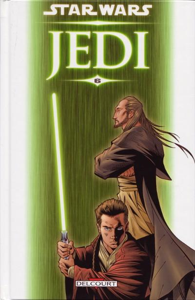 Couverture de Star Wars - Jedi -6- Qui-Gon & Obi-Wan