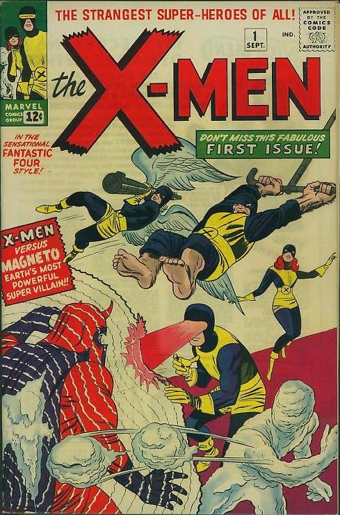 Couverture de Uncanny X-Men (The) (Marvel comics - 1963) -1- X-men