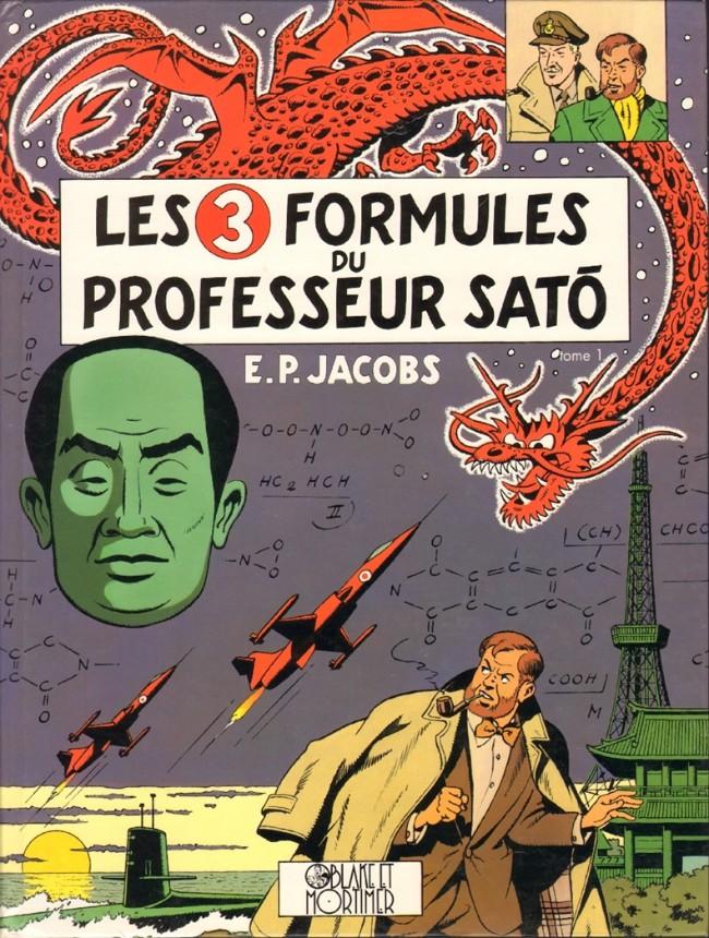 Couverture de Blake et Mortimer (Les Aventures de) -11- Les 3 Formules du Professeur Satô - Tome 1