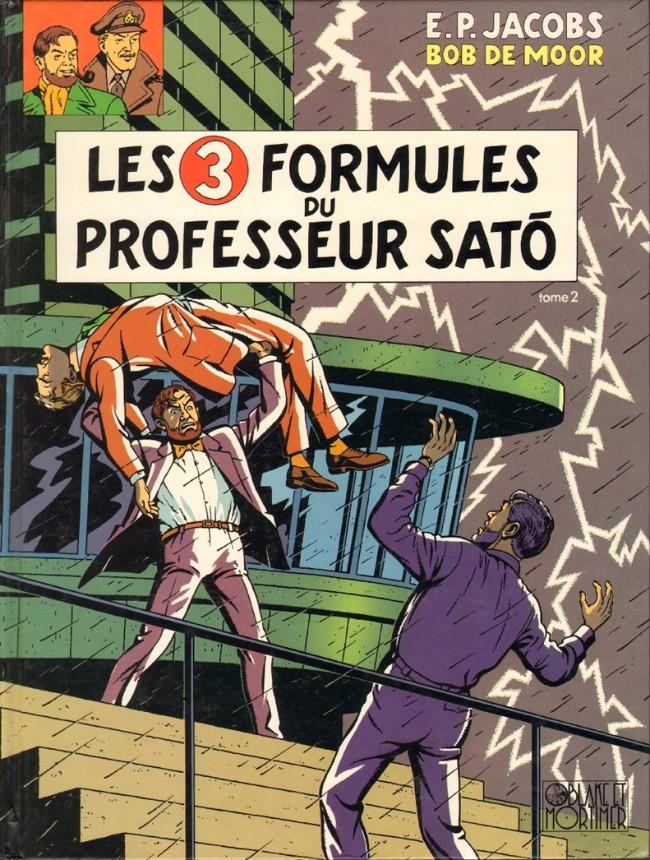 Couverture de Blake et Mortimer (Les Aventures de) -12- Les 3 Formules du Professeur Satô - Tome 2