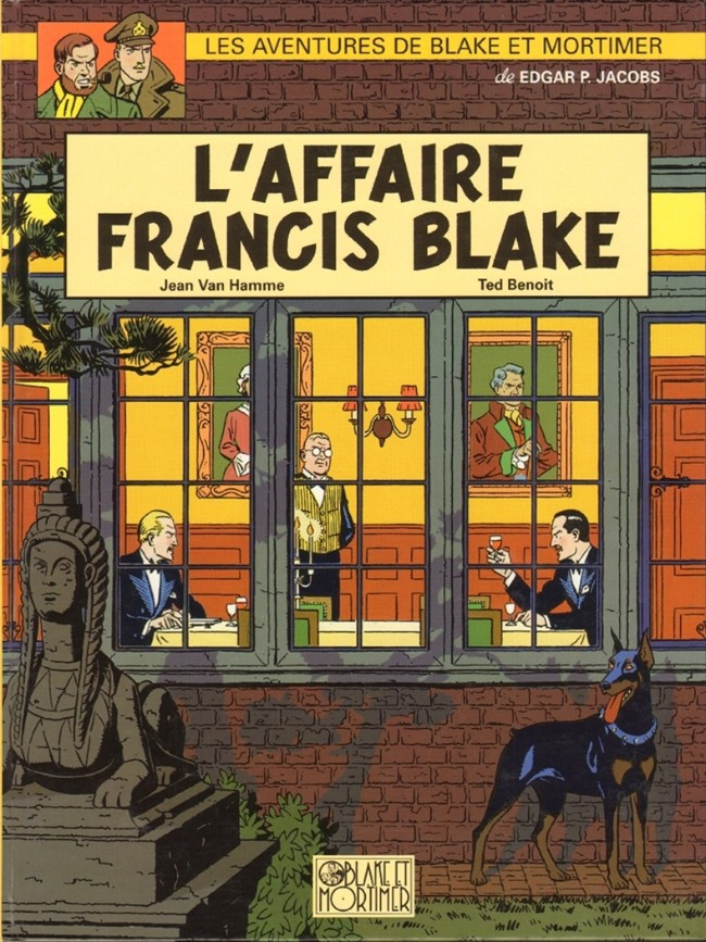 Couverture de Blake et Mortimer (Les Aventures de) -13- L'affaire Francis Blake