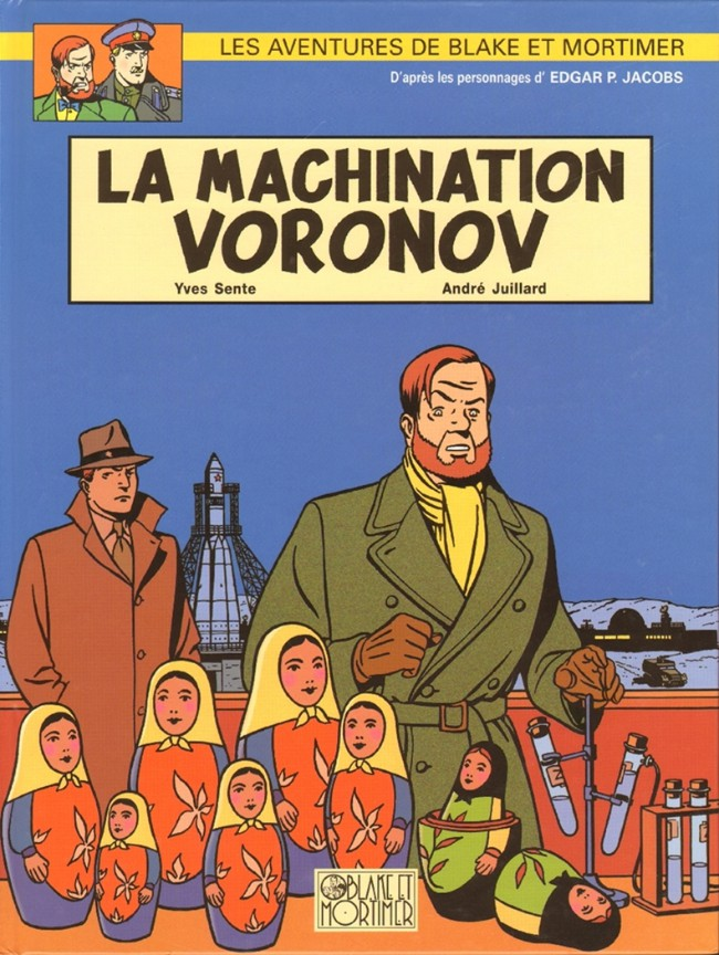Couverture de Blake et Mortimer (Les Aventures de) -14- La Machination Voronov