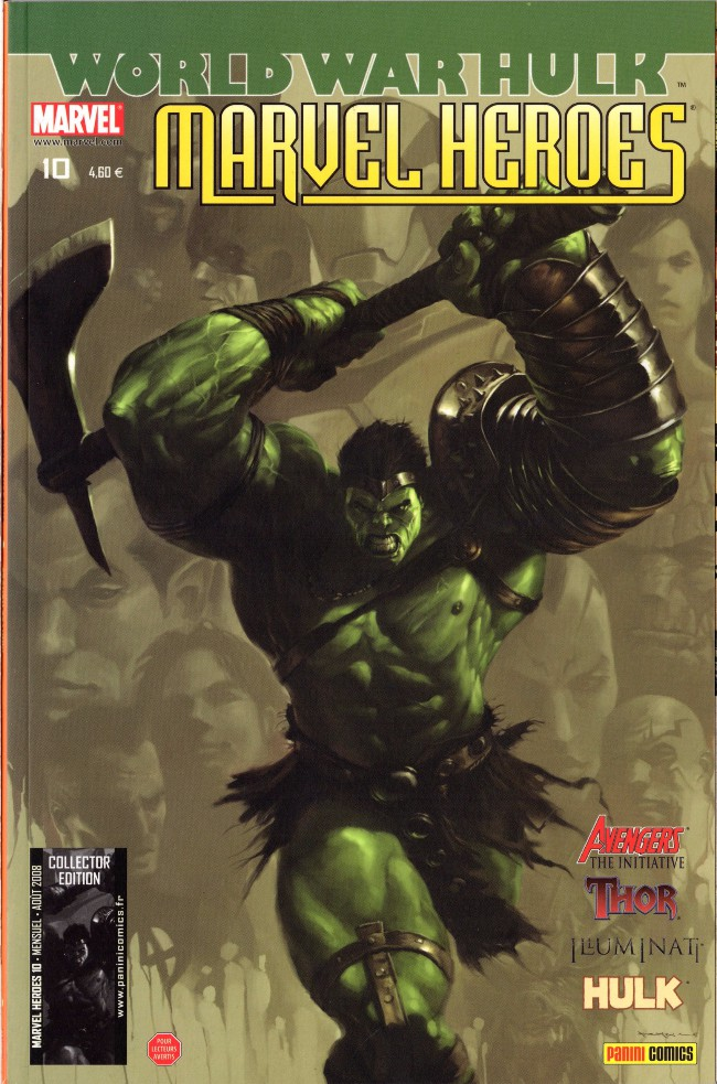 Couverture de Marvel Heroes (Marvel France - 2007) -10- Sans frontières