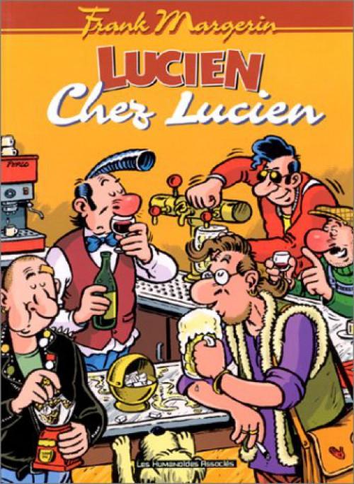 Couverture de Lucien (et cie) -4- Chez Lucien