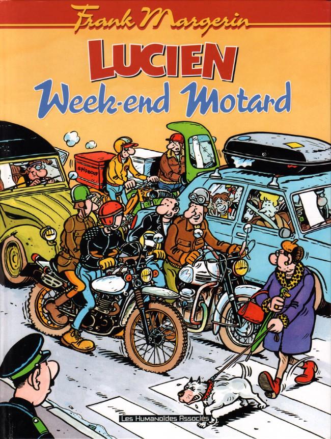 Couverture de Lucien (et cie) -8- Week-end motard