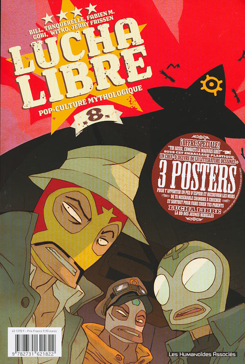 Couverture de Lucha Libre -8- Pop-culture mythologique
