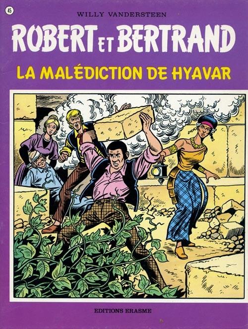 Couverture de Robert et Bertrand -45- La malédiction de Hyavar