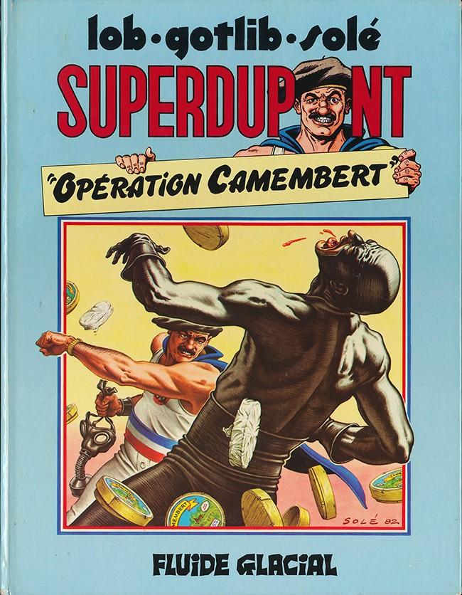 Couverture de SuperDupont -3- Opération camembert