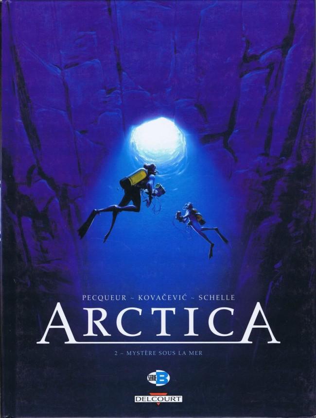 Couverture de Arctica -2- Mystère sous la mer