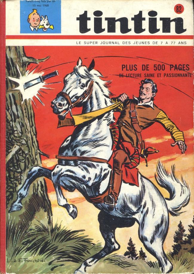 Couverture de (Recueil) Tintin (Album du journal - Édition belge) -82- Tome 82