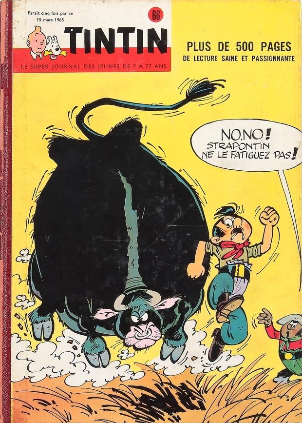 Couverture de (Recueil) Tintin (Album du journal - Édition belge) -66- Tome 66