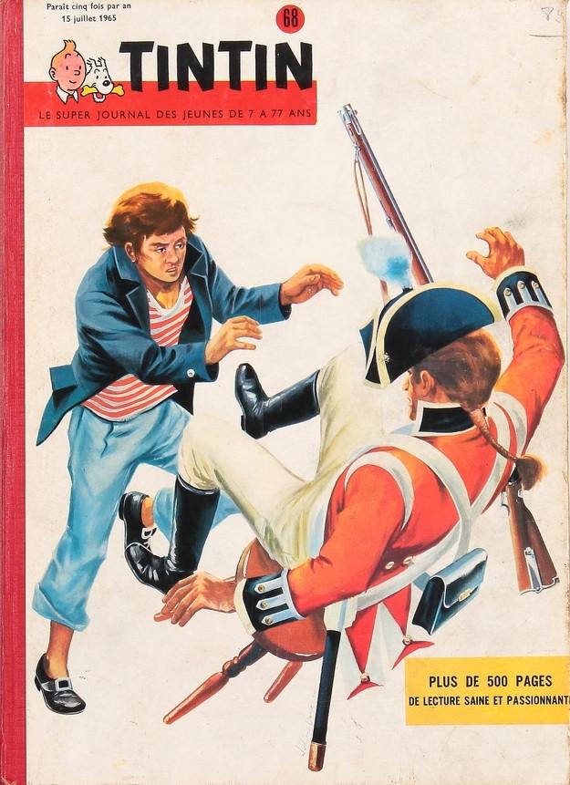Couverture de (Recueil) Tintin (Album du journal - Édition belge) -68- Tome 68