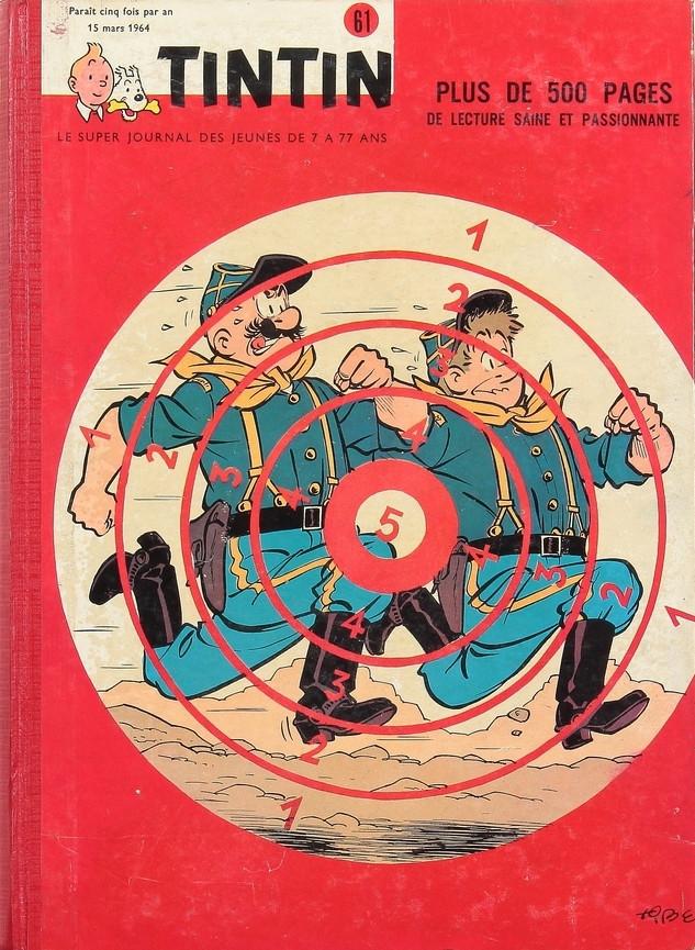 Couverture de (Recueil) Tintin (Album du journal - Édition belge) -61- Tome 61