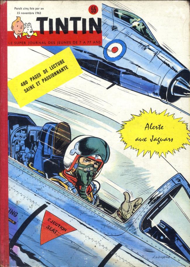 Couverture de (Recueil) Tintin (Album du journal - Édition belge) -55- Tome 55