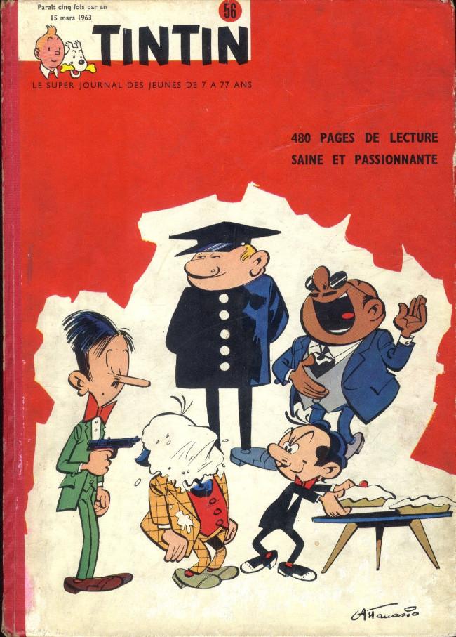 Couverture de (Recueil) Tintin (Album du journal - Édition belge) -56- Tome 56