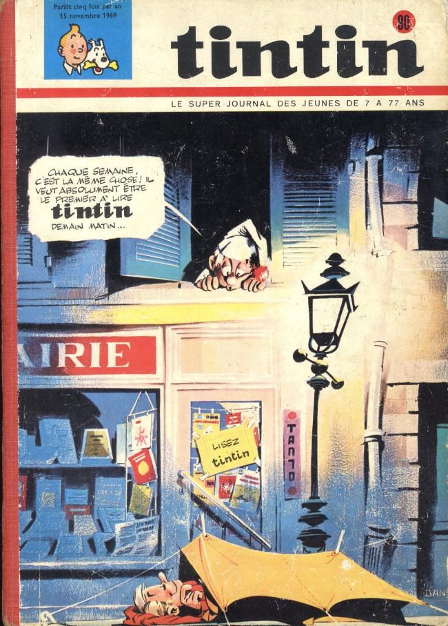Couverture de (Recueil) Tintin (Album du journal - Édition belge) -90- Tome 90