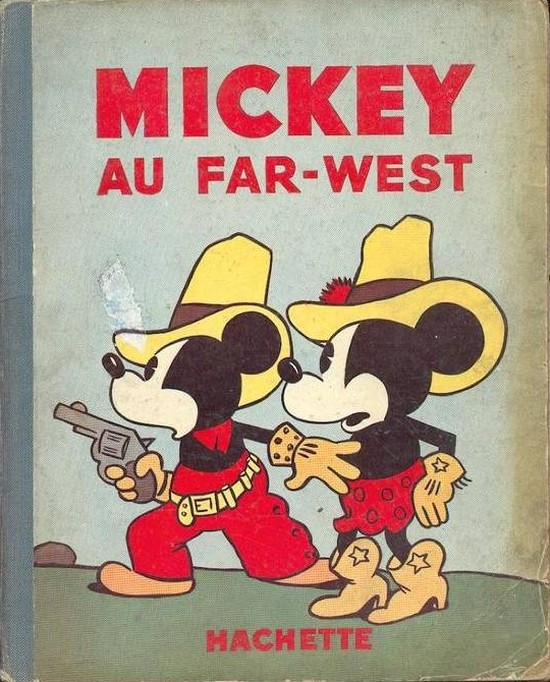Couverture de Mickey (Hachette) -9- Mickey au far-west