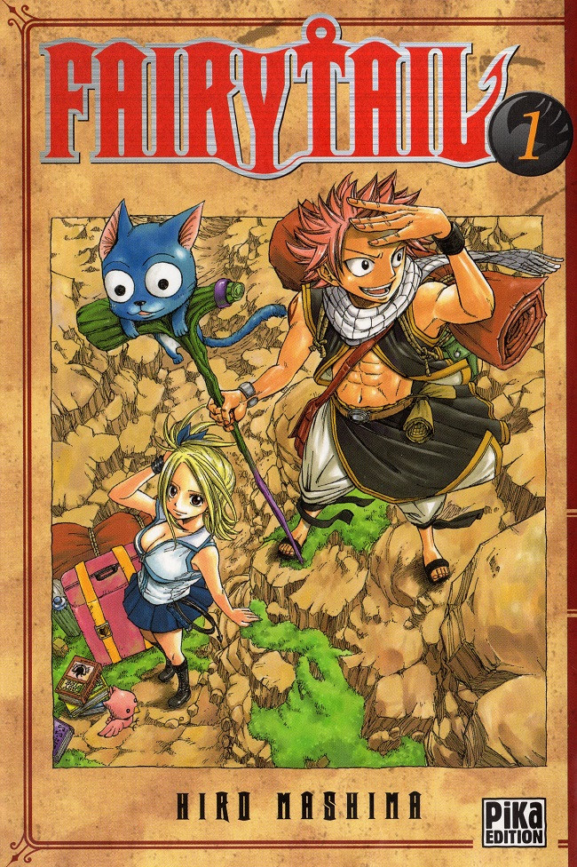 Couverture de Fairy Tail -1- Tome 1