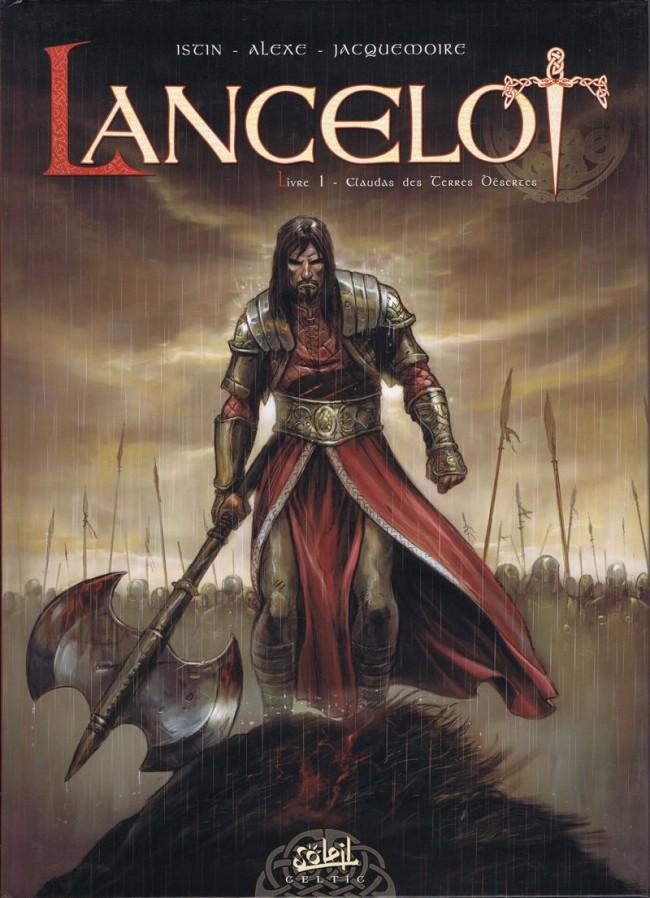 Couverture de Lancelot (Soleil) -1- Claudas des Terres Désertes