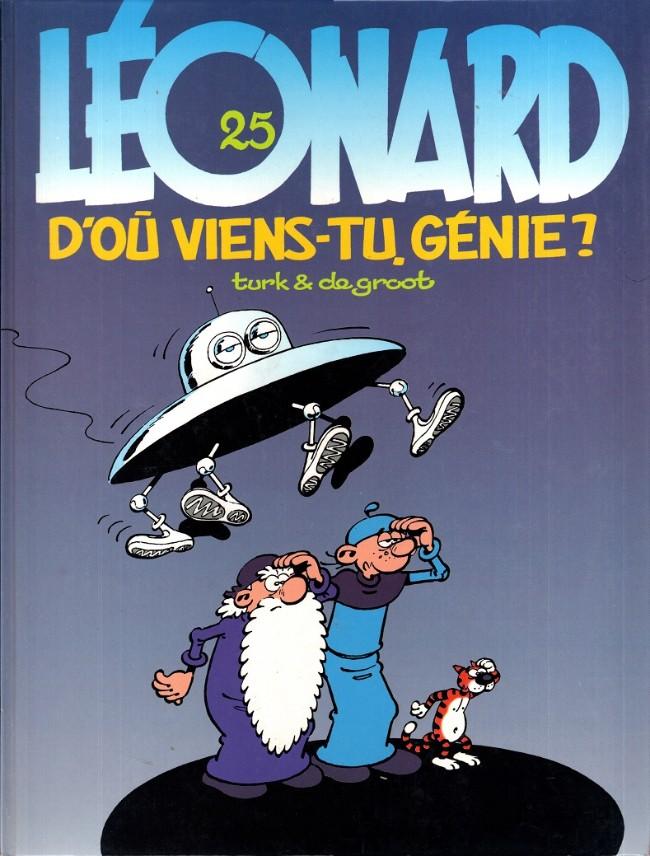 Couverture de Léonard -25- D'où viens-tu génie ?