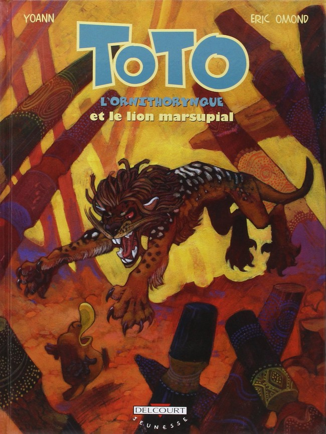 Couverture de Toto l'ornithorynque -7- Toto l'ornithorynque et le lion marsupial