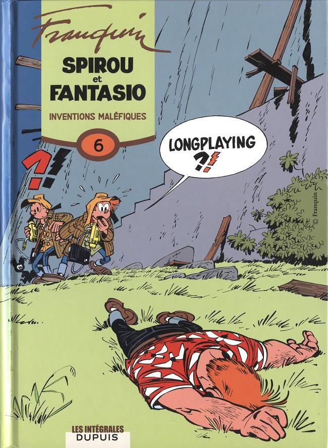 Couverture de Spirou et Fantasio -6- (Int. Dupuis 2) -6- Inventions maléfiques (1958-1959)