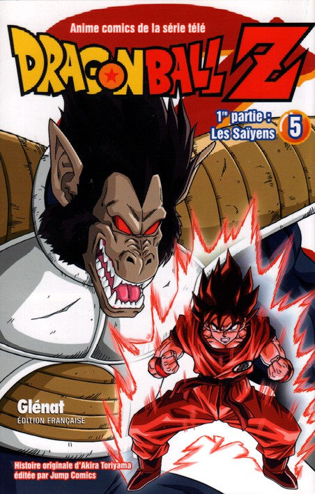 Couverture de Dragon Ball Z -5- 1re partie : Les Saïyens 5