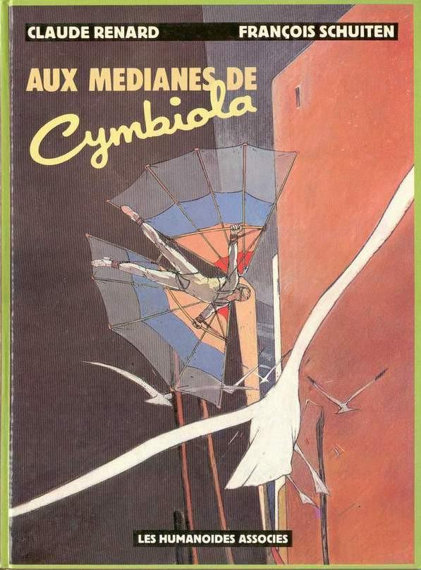 Couverture de Métamorphoses (Schuiten/Renard) -1- Aux médianes de Cymbiola