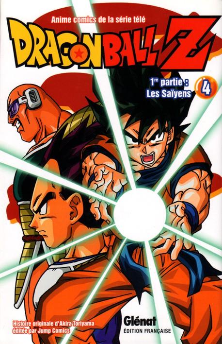 Couverture de Dragon Ball Z -4- 1re partie : Les Saïyens 4